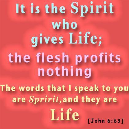 John 6 63